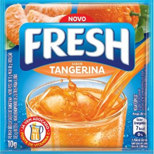 Refresco em pó Fresh Tangerina 10g