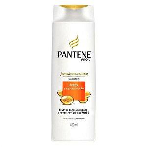 Shampoo Pantene Força e Reconstrução 400ml