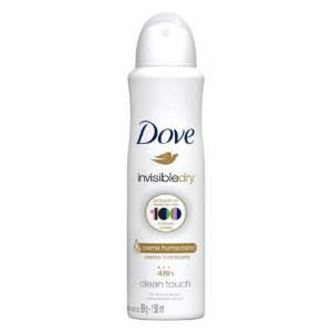 Desodorante Dove Aerosol Invisible Dry Clean Touch 150ml