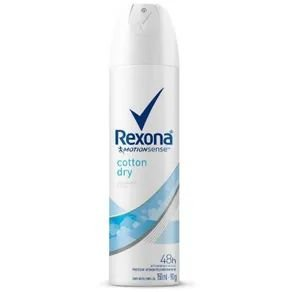 Desodorante Rexona Aerosol Feminino Cotton Dry 150ml