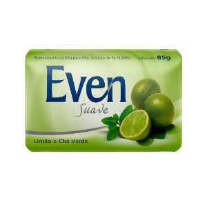Sabonete Even Limão e Chá Verde 85g