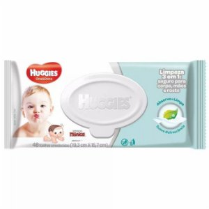 Lenços Umedecidos Huggies One Done 48un