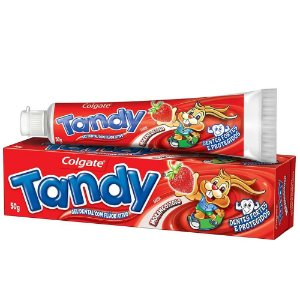 Creme Dental Tandy Morangostoso 50g