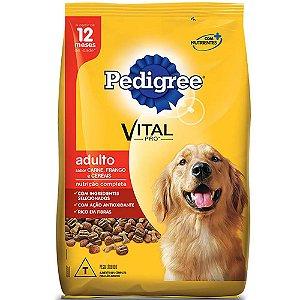 Ração para Cães Pedigree Adulto Carne, Frango e Cereais 3kg