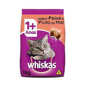 Ração para Gatos Whiskas Peixe 1kg