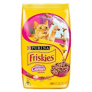 Ração para Gatos Friskies Adulto Mix Carnes 1kg