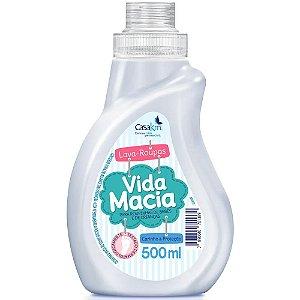 Lava Roupa Liquido Vida Macia 500ml