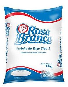 Farinha de Trigo Rosa Branca sem Fermento 1kg