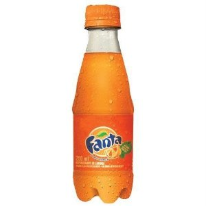 Refrigerante Fanta Laranja Mini Pet 250ml