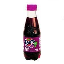 Refrigerante Fanta Uva Mini Pet 250ml
