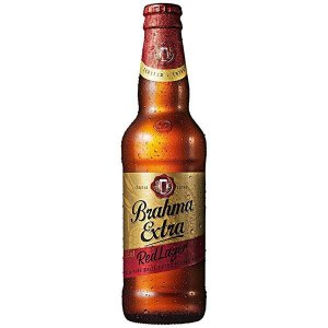 Cerveja Brahma Extra Red Larger Long Neck 355ml