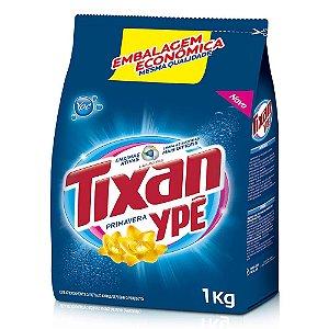 Detergente em pó Tixan Primavera saco 1kg