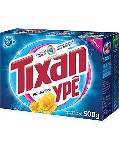 Detergente em pó Tixan Primavera caixa 500g