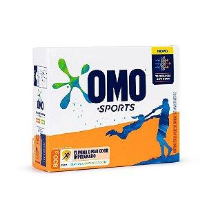 Detergente em pó Omo Sports caixa 800g