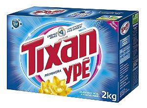 Detergente em pó Tixan Primavera caixa 2kg