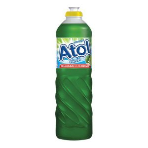 Detergente Líquido Atol Limão 500ml