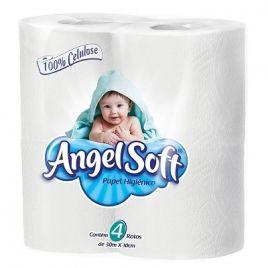 Papel Higiênico Angelsoft 4 rolos 30m
