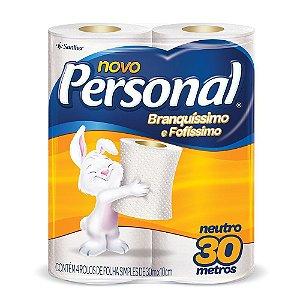 Papel Higiênico Personal 4 rolos 30m