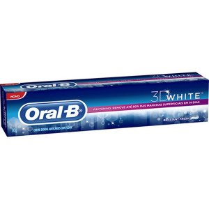 Creme Dental Oral B White 3D 70g
