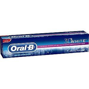 Creme Dental Oral B White 3D 70g