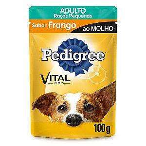 Ração para Cães Pedigree Adulto Raças Pequenas Frango 100g