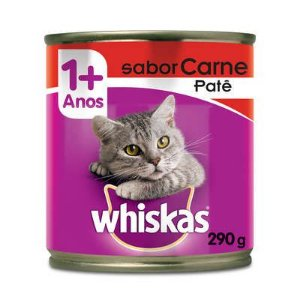 Ração para Gatos Whiskas Carne Lata 290g