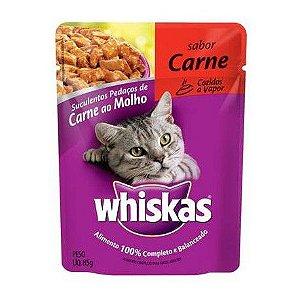 Ração para Gatos Whiskas Carne 85g