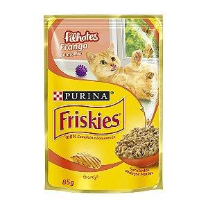 Ração para Gatos Friskies Filhotes Frango 85g