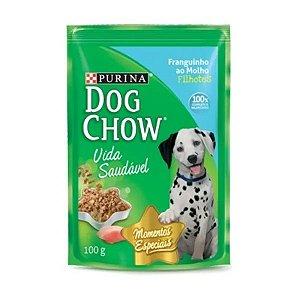 Ração para Cães Dog Chow Filhote Frango 100g