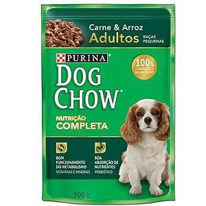 Ração para Cães Dog Chow Adulto Raças Pequenas Carne 100g