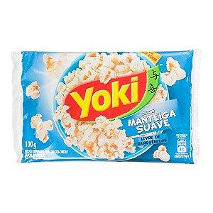 Milho de Pipoca Yoki Sabor Manteiga Suave 100g