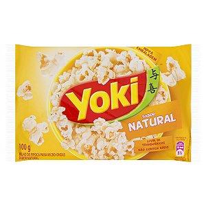 Milho de Pipoca Yoki Sabor Natural 100g