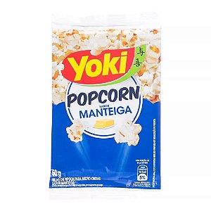 Milho de Pipoca Yoki Sabor Manteiga 50g