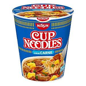 Macarrão Instantâneo Cup Noodles Carne 69g