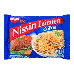 Macarrão Instantâneo Nissin Lamen Carne 85g
