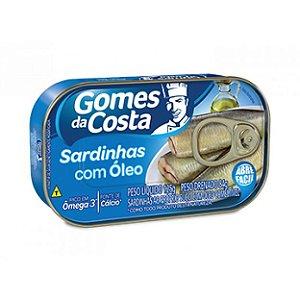 Sardinha Gomes da Costa com Óleo 84g