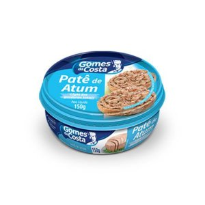 Patê de Atum Light Gomes da Costa 150g