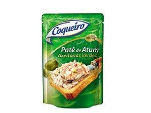 Patê de Atum Coqueiro com Azeitonas Verdes 170g