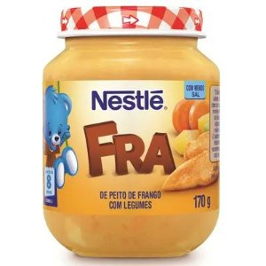 Alimento Infantil Nestlé Peito de Frango com Legumes 170g
