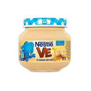Alimento Infantil Baby Nestlé Banana com Aveia 120g