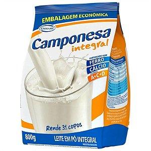 Leite em Pó Camponesa Integral 800g