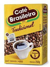 Café Brasileiro Tradicional Vácuo 250g