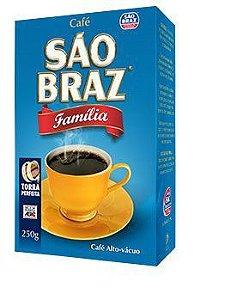 Café São Braz Vácuo Família 250g