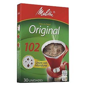 Filtro Papel 102 para Café Melitta 30und