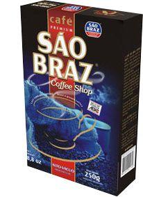 Café São Braz Premium Alto Vácuo 250g