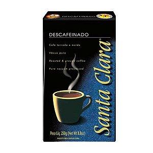 Café Santa Clara Descafeinado Vácuo 250g