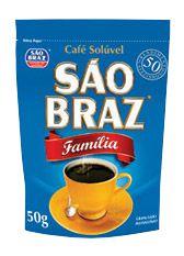 Café São Braz Solúvel Sachê 50g