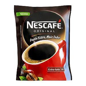 Café Nescafé Solúvel tradicional sachê 50g