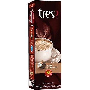 Café com leite 3 Corações cápsulas (10x9g)