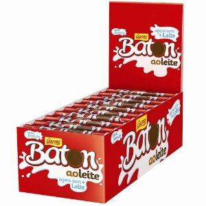 Chocolate Garoto Baton ao Leite 30und